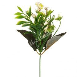 Pick bogyós virág, fehér, kb. 36 cm