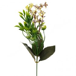 Pick bogyós virág, krém, kb. 36 cm