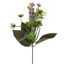Pick bogyós virág, lila, kb. 36 cm