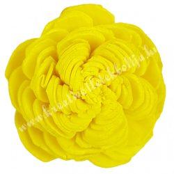 Ming boglárka fej, sárga, 4 cm