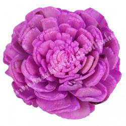 Ming boglárka fej, lila, 4 cm