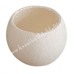 Bell cup, fehérített, 4-5 cm