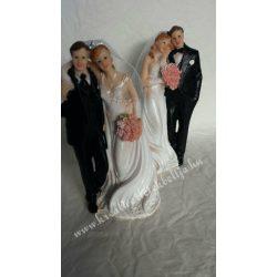 Esküvői pár, 2 féle