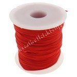 Nylon zsinór, 1mmx1m, piros, 1 méter