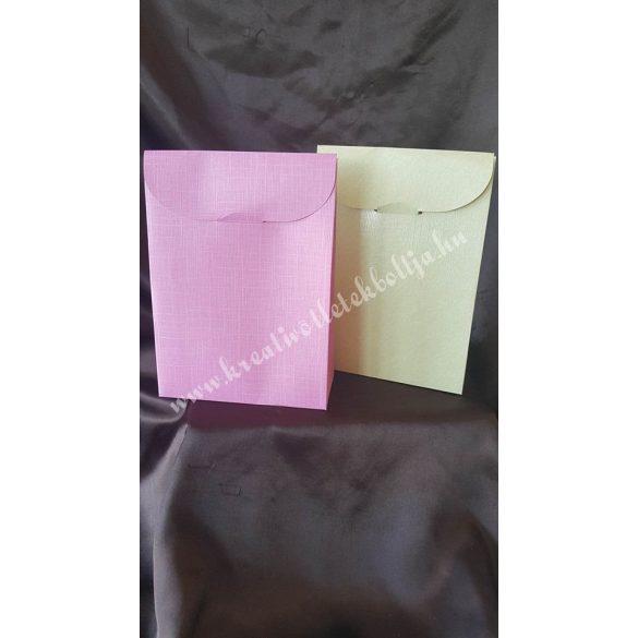 Papírdoboz ,170x70x235mm,rózsaszín