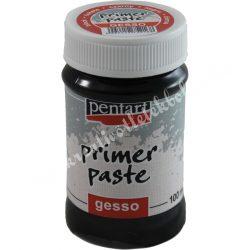Alapozó paszta, fekete (gesso) 100 ml