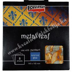 Pentart füstfólia, V01, 14x14 cm, 5 lap/csomag