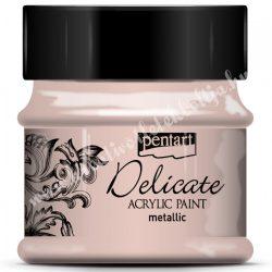 Pentart Delicate metál akrilfesték, 50 ml