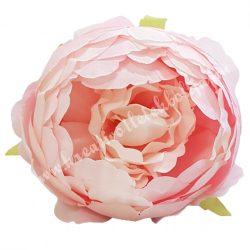 Peonia fej, világos rózsaszín, 10 cm