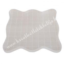 Akril blokk szilikon pecsételőhöz, 10 cm