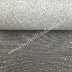 Glitteres tüll, ezüst, 15 cm
