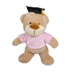 Plüss maci rózsaszín pulcsiban