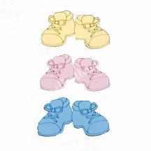 Polifoam babacipő, kicsi