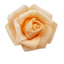 Polifoam rózsa, 3,5x2,5 cm, 8., barack
