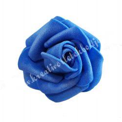 Polifoam rózsa, 4x3 cm, 3. Sötétkék