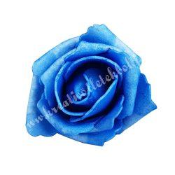 Polifoam rózsa, 6x5 cm, 14. Kék
