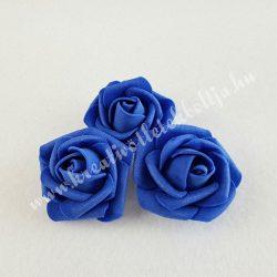 Polifoam rózsa, közepes, 22. Sötétkék