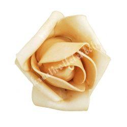 Polifoam rózsa, 6x5 cm, 24.  Cappuccino