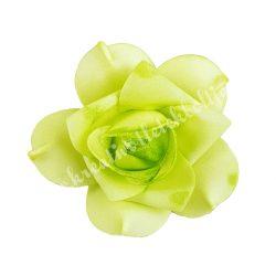 Polifoam rózsa, 6x5 cm, 26. Zöld
