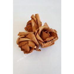 Polifoam rózsa, közepes, 4. Világosbarna