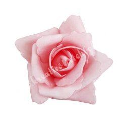 Polifoam rózsa, 6x5 cm, 6. Sötétrózsaszín