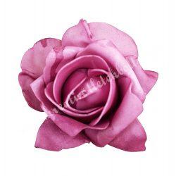 Polifoam rózsa, 9x6 cm, 7. Mályva