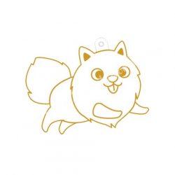 Festhető forma matricafestékhez, pomerániai kutya