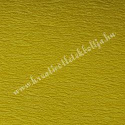 Krepp papír sárga
