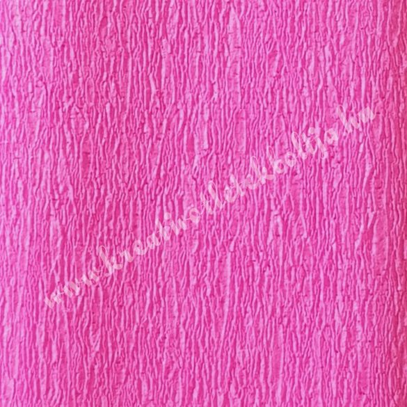 Krepp papír sötét rózsaszín