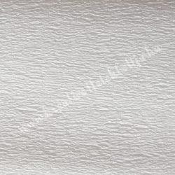 Krepp papír, fehér
