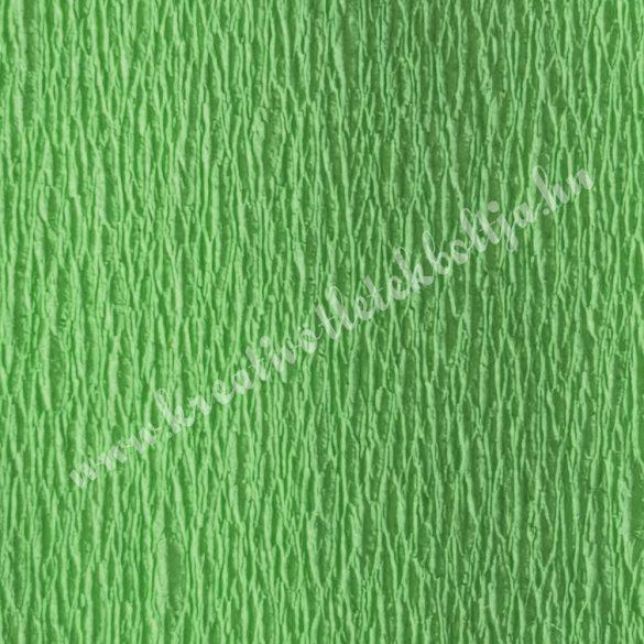 Krepp papír fűzöld