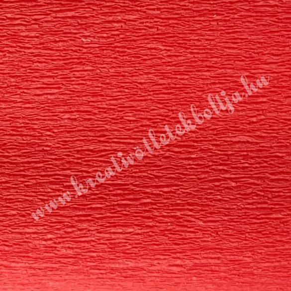 Krepp papír piros