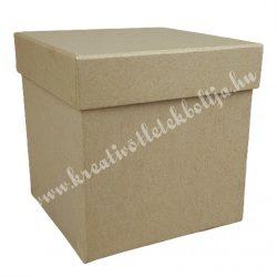 Papírdoboz, kocka, 14 cm