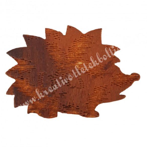 Ragasztható fa süni nyomott mintás