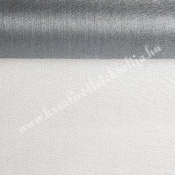 Organza anyag, ezüst, 47 cm