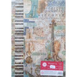 Rizspapír, hangszer, A4 (4324)