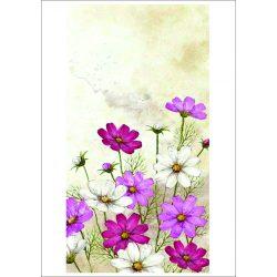 Rizspapír pillangóvirágok A4