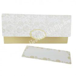 Pénzátadó boríték, ajándékkísérő kártyával, 21,5x10 cm