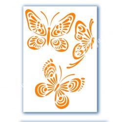 Stencil 45., Pillangók 1.