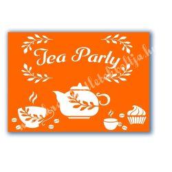 Stencil 97., Tea Party