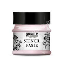 Pentart stencilező paszta - gyöngyház, 50 ml