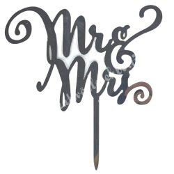 Sütemény díszítő pálca, MR&MRS