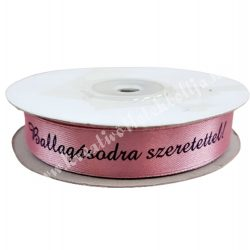 Szalag, Ballagásodra szerettel!, rózsaszín