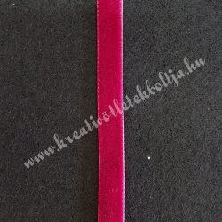 Bársonyszalag, bordó, 10 mm (1)