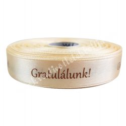 Szalag, Gratulálunk! vanilia 3
