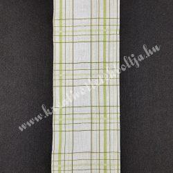 Szalag, kockás 5., zöld-fehér, 100 mm