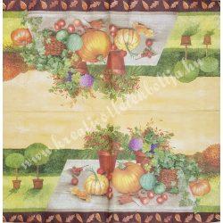 Szalvéta , Ősz 14. , 25x25 cm , 1 darab