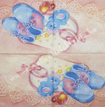 Szalvéta, babaváró 13., 32x32 cm, 1 darab