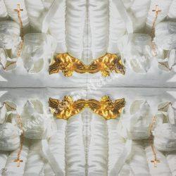 Szalvéta, babaváró, 33x33 cm (14)