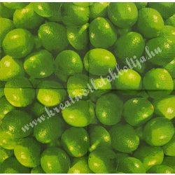 Szalvéta, déligyümölcs, lime, 32x32 cm, 1 darab